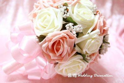 ♥晶鑽婚禮百貨♥ 新娘捧花 結婚捧花 伴娘進場捧花 造型捧花 珠寶捧花 求婚道具 婚紗拍照道具