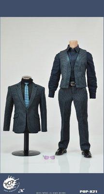 JAMES ROOM#POPTOYS 1/6型系列復仇者聯盟款2鋼鐵人西裝套裝(含墨鏡)