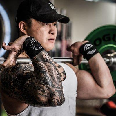 護腕克里斯街頭健身護腕男女子CrossFit有氧訓練體操體能纏繞式護腕帶滿額免運