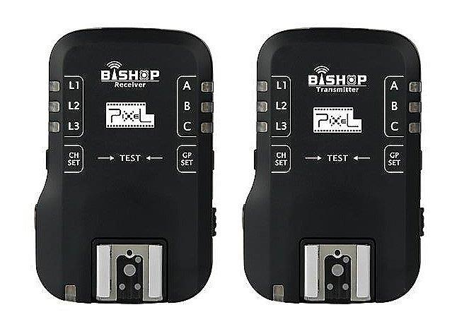 現攝影-品色 Bishop(F-510n)無線閃燈觸發器2.4G 可雙閃 分組 喚醒 快門 iTTL NIKON用 離機