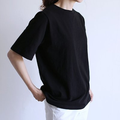 girlmonster 正韓 棉質彩色 短袖上衣  (13種顏色) 【A0230】