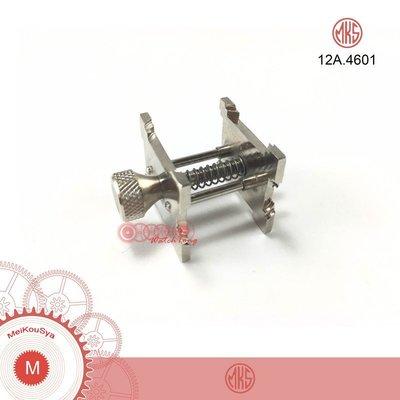 【鐘錶通】12A.4601《日本MKS》四面機芯座/機芯固定座 日本製 ├鐘錶工具/手錶工具/修錶工具┤
