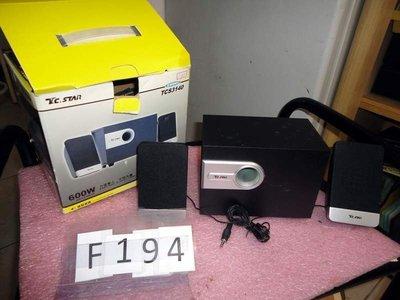 s C13   電腦用音響喇叭俗賣如相 F194