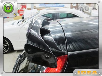 泰山美研社3686 福特FORD Fiesta 客製改尾翼