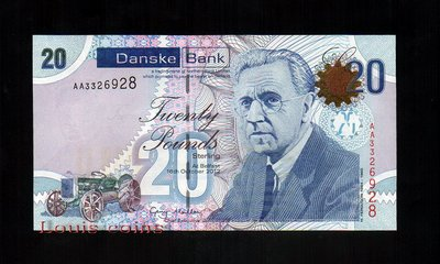 【Louis Coins】B067-NORTHERN IRELAND-2012北愛爾蘭紙鈔.20 pounds