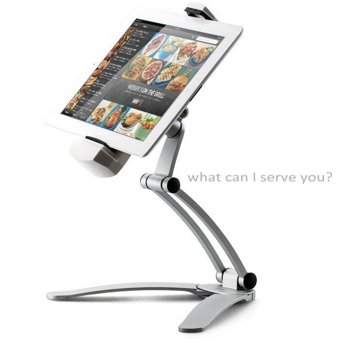 iPad Stand,iPad Pro 支架,iPad Pro 腳架,iPhone 支架,iPad 壁架,壁掛,做菜教學