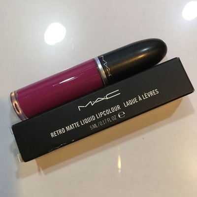 MAC 魅可 超霧感唇釉 6 TAILORED TO TEASE 九成新