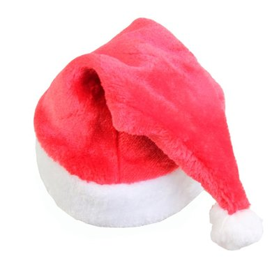 聖誕裝飾老人帽子成人兒童帽卡通毛絨聖誕節裝飾品裝扮頭飾雪花帽