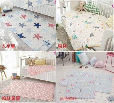 韓國prielle 嬰幼兒 防水墊 尿布墊(庫存 森林2大星星0 彩色貓咪0小星星0)
