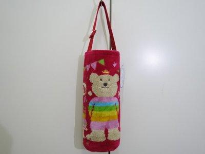 ☆注目の日本製Rainbow Bear  紅色皇冠彩虹熊500ml手提袋☆