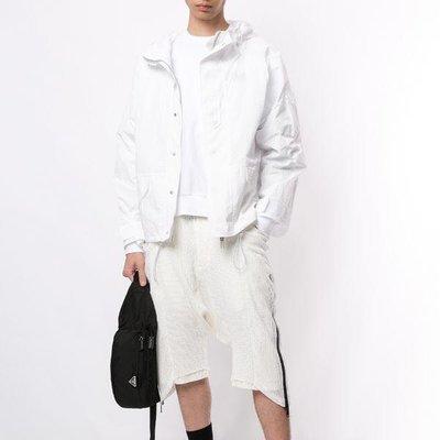 UNRAVEL PROJECT concealed-fastening hooded jacket 男尼龍連帽夾克 限時超低折扣代購中