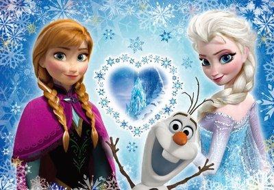 缺 日本進口拼圖 迪士尼 Frozen 冰雪奇緣  艾莎 安娜 200片拼圖 200-899