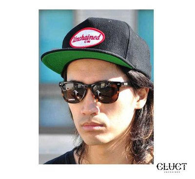 GOODFORIT / 日本CLUCT WOOL BB CAP橢形標語貼布毛料復古球帽/三色