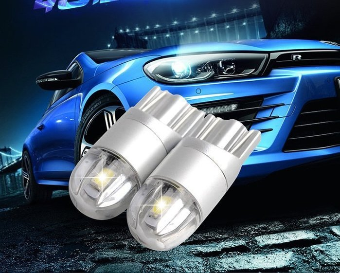 ◇光速LED精品◇T10 鷹眼燈 透鏡 led 寬電壓小燈泡 牌照燈  高亮行車燈