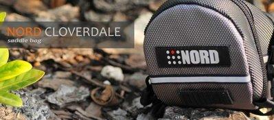 【NORD】 © 加拿大品牌 Cloverdale 流線型自行車座墊(坐墊)/車尾 包/袋(RB021)黑色