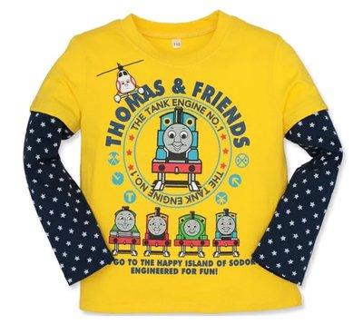 ✈日本Thomas Friends logo長袖T【100cm·110cm】[男孩]