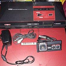 SEGA Master System (SMS) 主機套裝,原裝手掣,火牛,AV 線-不散賣