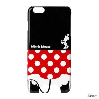 尼德斯Nydus~* 日本迪士尼 米妮 Minnie 硬殼 手機殼 5.5吋 iPhone6+ 屁屁俏皮系列