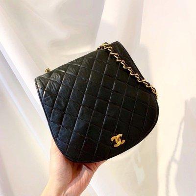 轉box_room Chanel vintage coco handbag  香奈兒 羊皮 類馬鞍菱格 金鍊 斜背包