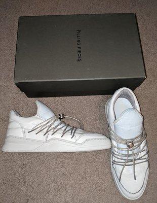 〔英倫空運小鋪〕[二手出清區] Filling Pieces 皮革 運動鞋 休閒鞋 EU41