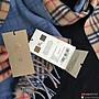 美國大媽代購 Burberry 巴寶莉 專櫃最新款 奢華Vintage長版復古格紋 英倫潮流圍巾 美國outlet代購