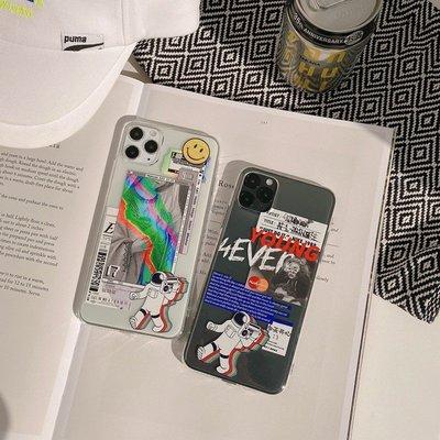 個性太空人 iPhone12 11 ProMax SE2 7 8 xs xr max Mermaid 手機殼【快速出貨】