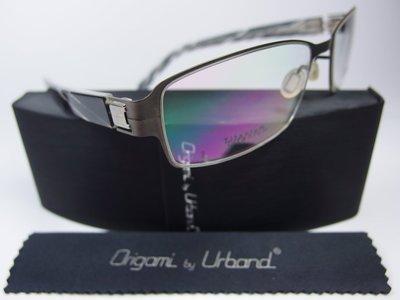 【信義計劃】全新真品 Urband 日本手工眼鏡 超輕鈦金屬大框 專利彈簧鏡腳 超越 Markus T Flair