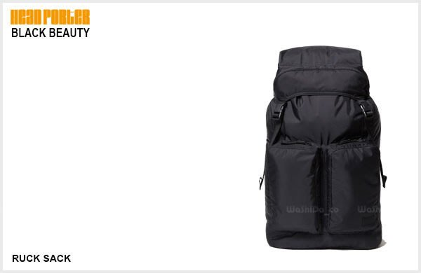 WaShiDa【HEAD PORTER BLACK BEAUTY RUCK SACK 旅行 登山包】HP-3199