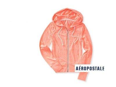 美國正品 Aeropostale[Aero] 女 美式連帽薄外套 / S ( 編號:3288 )