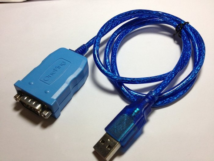 萬平科技-USB ToRS232(帶殼帶1米線)支援Win10 (32 和 64),Android,PL2303HXD