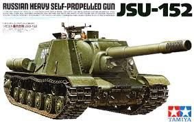 【TAMIYA 35303】1/35 蘇聯 JSU-152 重型自行火炮(35303)