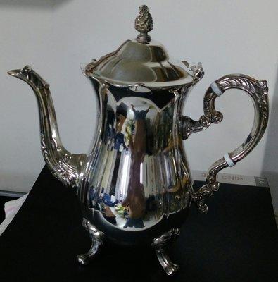 69英國優雅鍍銀壺 Gorgeous Vintage Tea Pot 高雄市