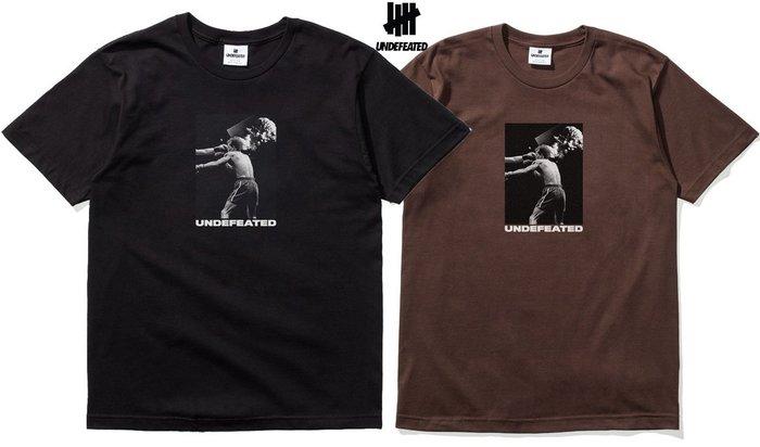 【超搶手】全新正品 最新款 UNDEFEATED DEATH BLOW TEE 拳擊 黑白咖啡S M L XL