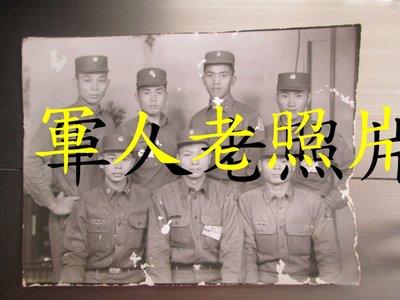 50年代懷舊照片-軍人團體照片,長14.5X寬11.5公分