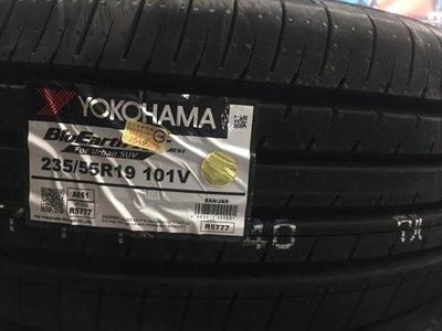 三重近國道 ~佳林輪胎~ 橫濱輪胎 AE61 235/55/19 含3D定位 非 RV02 G058 G055