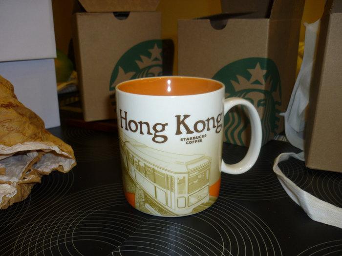 STARBUCKS星巴克城市馬克杯-香港-HONG KONG......16OZ. 1000下標就賣