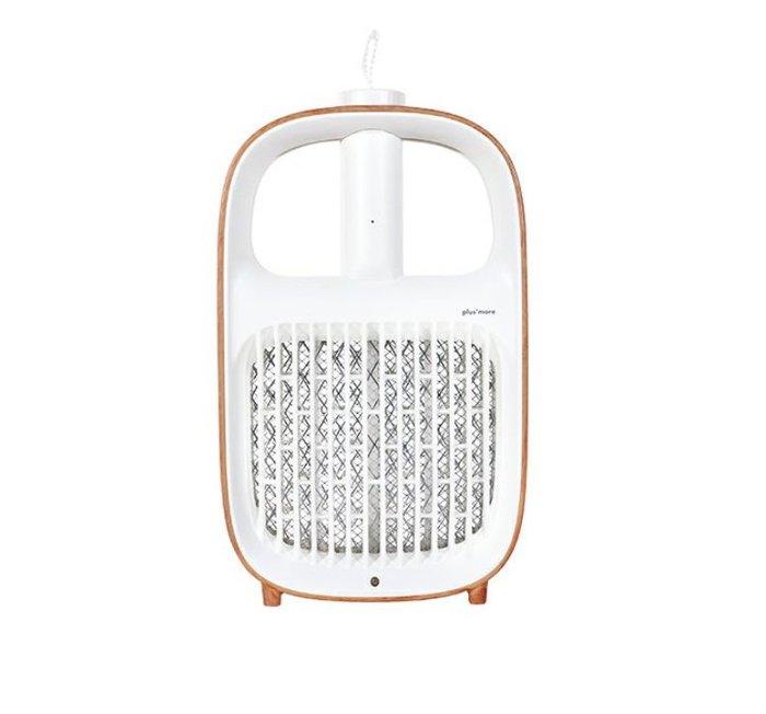 《FOS》日本 plusmore 二用式 電蚊拍 滅蚊燈 滅蚊器 捕蚊燈 充電式 時尚 設計師 熱銷 2020新款