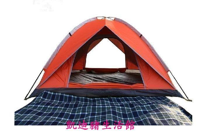 【凱迪豬生活館】帳篷戶外多人野營帳篷 野外露營雙人3-4人 防雨 特價KTZ-201053