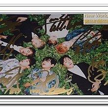 預購/限量BTS 防彈少年團 親筆簽名 花樣年華 宣傳7人親筆簽名照片