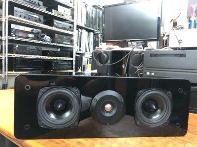 Logic Audio C1 中置喇叭 中聲道喇叭 鋼琴烤漆 美國製