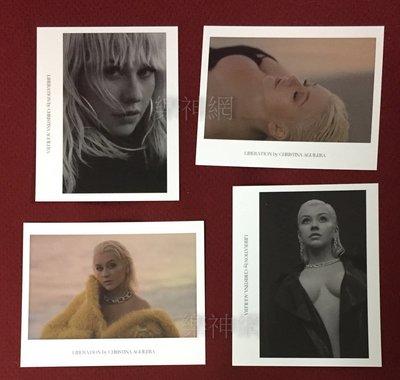 克莉絲汀Christina Aguilera 解放Liberation 【真卡套組(四張)】全新!免競標~