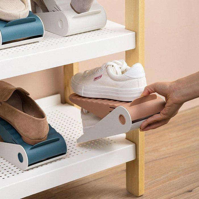 可挑色 可調式 鞋架 收納鞋架 簡易鞋子收納架  北歐風格布置  鞋盒 租屋布置