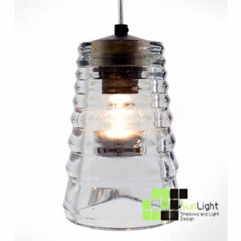 【SUN LIGHT 日光燈坊】Pressed glass-tube吊燈,另PH松果PP釣鱼2097化學反應摩天輪飛碟