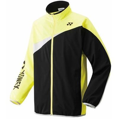 [維特羽球] 日本 JP版 YONEX 52001-607 林丹記者會 熱身外套 (黃黑色)