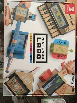 毛毛的窩 NS 任天堂實驗室 Labo Toy-Con 01多彩配件 Vanety Kit(日本版)~保證全新未拆'