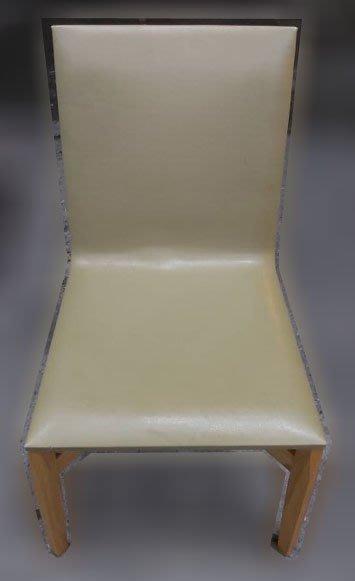 台中二手家具買賣 推薦西屯樂居(北)中古傢俱館F111412*皮餐椅* 二手餐桌 餐椅 餐桌椅組 各式桌椅 新北中古家具