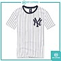 DOT聚點 創信 MLB MAJESTIC 大NY LOGO 白深...