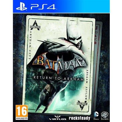 (現貨全新) PS4 蝙蝠俠:重返阿卡漢 英文歐版 Batman: Return to Arkham