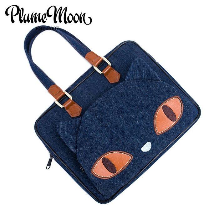 筆電包 側背包 手提包 保護囊 防水 蘋果ipadpro10.5air1234內膽包保護套手提包牛仔可愛女士包郵