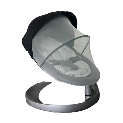 嬰兒睡籃 搖籃 提籃荷蘭nuna leaf嬰兒搖椅寶寶安撫玩具防蚊帳罩布套坐墊子專用配件*可魯可丫